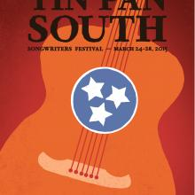 Tin Pan South Artwork 2015