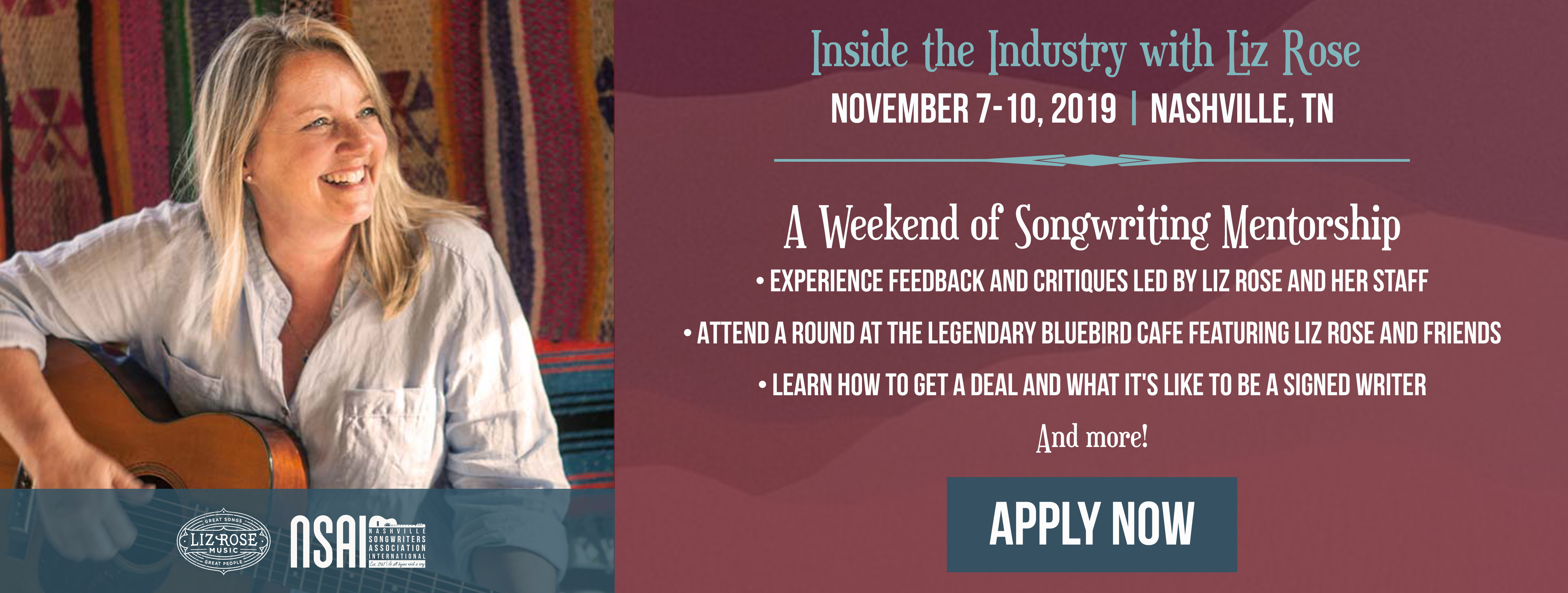 Nashville Songwriters Association International | It all begins with